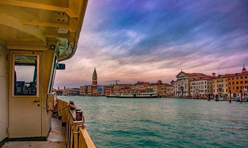 Waterbus naar Venetië