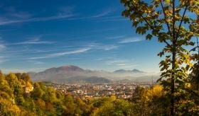 Bergamo - Citta Alta uitzicht