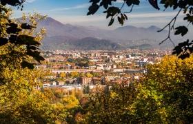 Bergamo - Citta Alta uitzicht - 2