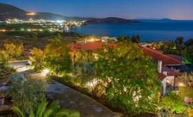 View from Yialasi Hotel to Epidauros